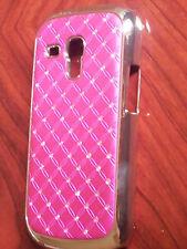 Diamond Bling Glitter Chrome Hard Case cover for Samsung Galaxy Mobile Phones