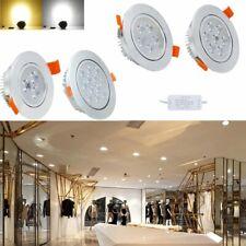 LED Einbauleuchte 3/5/7W Deckenleuchten Küche Einbau Strahler 230V Edelstahl