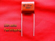 5 pc   -   .22uf  630v  (0.22uf, 220nf)  NP  5%  105c  radial capacitors
