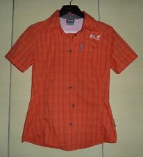 Jack Wolfskin - Stretch Bluse - regular - Orange - Größe S - 36/38 - wie Neu -