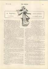 """1905 Hb Mariott Watson Short Story """" Birds Nesting"""""""