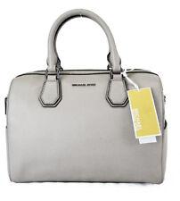 **MICHAEL KORS Mercer Studio Cement Leather MD Convertible Satchel Bag Msrp $298