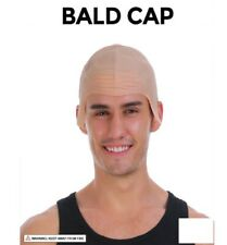 Rubber Bald Man Skinhead Latex Head Cover Wig Cap Costume Party Dress Up 22867
