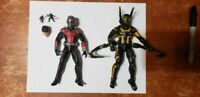 "Marvel Legends 6"" ANT-MAN YELLOW JACKET MCU STUDIOS 10TH ANNIVERSARY Hasbro"