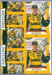 MATT KENSETH 2007 Press Pass Base & Gold Parallel # 105 & G105