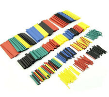 328 pcs 5 Colors 8 Sizes Assorted 2:1 Heat Shrink Tubing Wrap Sleeve Kit Top h