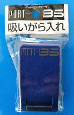 Hard plastic Pocket ashtray for tabacco cigarette smoking (Violet)