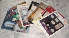 Lot of 7 Wall Sayings Projects Cross Stitch Booklets Patterns Designs Pictures