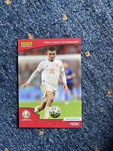 Panini Instant Euro 2020 Spain - Pedri Young Player of the Tournament Superstar
