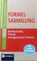 Formelsammlung Mathematik, Physik & anorganische Chemie. Compact SilverLine von…