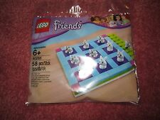 LEGO FRIENDS NOUGHTS AND CROSSES GAME IN POLYBAG 40265 - NEW/SEALED