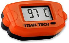 Trail Tech TTO Temperature Meter Digital Gauge 14mm Spark Sensor Orange 743-ET3
