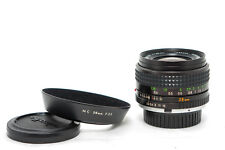 """Minolta Wide Angle Lens MC WITH ROKKOR 28mm f/3,5 Condition """" Set """""""