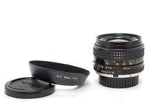 "Minolta lente gran angular mc w. rokkor 28mm f/3, 5 estado ""set"""