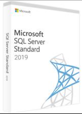 SQL Server 2019 Standard Product Key License MS 24 CPU Cores Genuine
