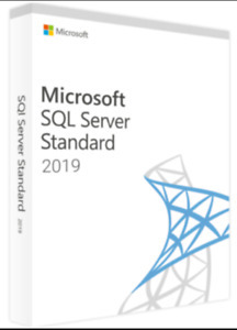 SQL Server 2019 Standard Product Key License MS 24 CPU Cores Genuine