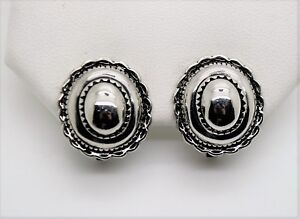 CHIC CLASSIC Design Style Rhodium Plated Stud Clip Fashion Jewelry Earring #7-68