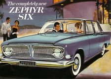 Ford Zephyr 6 Mk 3 1962 Car New Jumbo Fridge Magnet