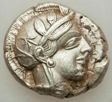 440-04 BC Ancient Greece Athens AR tetradrachm Choice XF An UNQUALIFIED BEAUTY