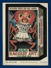1980 Topps Wacky Packages #137 Raggety Ant (EX) Album Sticker
