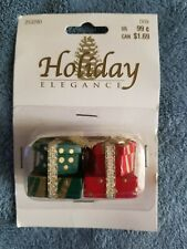 Christmas Tree Miniature Ornaments Presents only