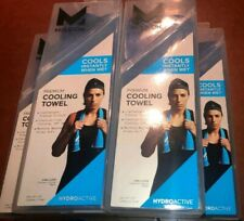 5 Mission HydroActive Cooling Towels 10� x 33� Large Water Activated Royal Blue