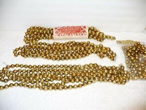 3 STRANDS ❤ Rare Vtg Mercury Glass Christmas Garland Beads, Japan Ornaments