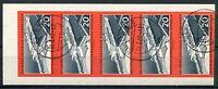 4102) DDR 1960 - Mi.Nr. 805 B im Fünferstreifen gestempelt! EISENBAHN