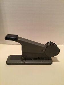 Vintage Bates Wire Fed Metal Stapler Model B-Free Shipping