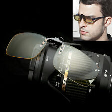 Anti Blue Ray Clip On Sunglasses Protection Polarized Computer TV Glasses Lens