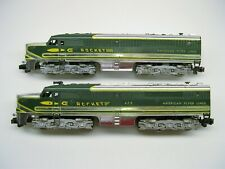 474/475 American Flyer Chrome Rocket A-A Diesel Engines [Lot Kk11-D5]