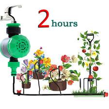 Automatische Bewässerung Zeitschaltuhr Garten Wasser Timer Wassertimer 2 Stunden