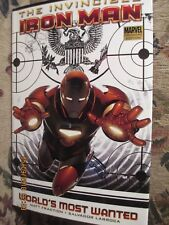 Invincible Iron Man Vol 2 : World's Most Wanted (2009, Hardcover Matt Fraction