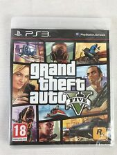 PS3 Grand Theft Auto V 5 (2013), UK Pal, Brand New & Factory Sealed