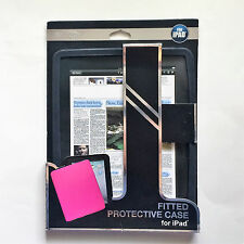BYTECH Black iPad Case Silicone Fitted Protective Pad Cover Apple Accessory  New