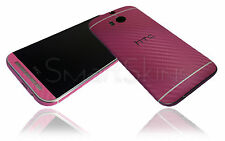 Carbon Fibre Skin Sticker For HTC ONE M8 cover decal protector accessory case