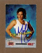 Molly Holly (Nora Benshoof), Pro Wrestler, Signed & Inscribed Sports Card, COA