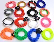 2Pcs Pulseras De Silicona Varios Colores Muñeca Bandas de goma pulseras ukty sólido