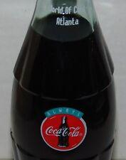 1993 Coke World of Coca-Cola Atlanta Georgia Commemorative 8oz Bottle