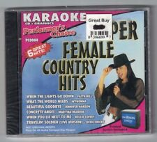 Performer's Choice Super Female Country Hits Lyrics Included #PC0004