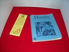 Hotels In Great Britain &  Northern Ireland 1956 Edition