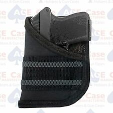 Pocket Holster Small Autos Nylon Black Fits .22, .25, .32 and .380 by Ace Case
