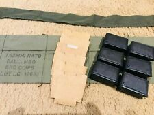 Authentic Usgi M1 Garand Bandolier Repack kit w/cardboards & Br-W clips or Aeg 2