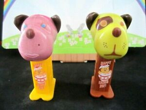 NEW RELEASE 2021 Mini BARKY BROWN EASTER Pez set - FAST $3.99 US Ship