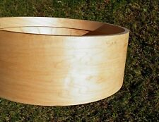 Snare drum shell 5 x 14 eight ply Maple with 8 ply rings REDUCED