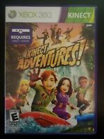 Kinect Adventures Microsoft Xbox 360 Game WITH CASE & MANUAL BUY 2 GET 1 FREE