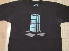 THREADLESS Calling Home T-SHIRT Mens MED Phoning E.T. Phone Booth Alien Funny M