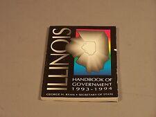 George Ryan, Illinois Secretary of State 93-94 Handbook