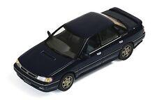 ixo 1:43 1989 Subaru Legacy 2.0 Turbo RS, blue w/grey interior