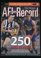 2005 AFL Football Record Essendon Bombers vs Geelong Cats July 29-31  unmarked